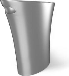 Kosz na śmieci skinny srebrny