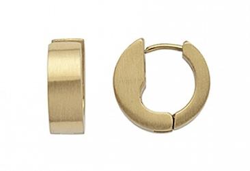 Kolczyki magnetyczne 664-3 złote kółka