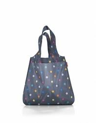 Siatka mini maxi shopper marine dots