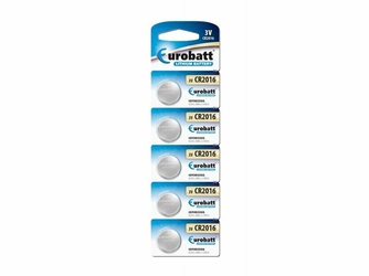Eurobatt Bateria Lithium CR2016  3V