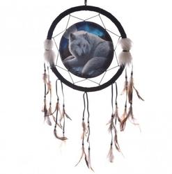 Wilk strażnik północy - łapacz snów, 33cm
