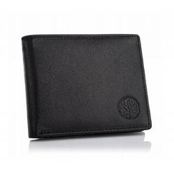 Męski skórzany portfel betlewski bpm-gtn-66 czarny