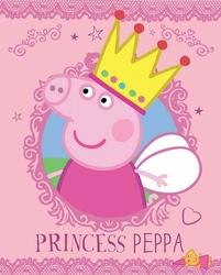 Świnka Peppa Princess - plakat