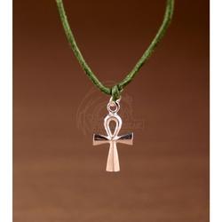 Krzyż ankh + bransoletka