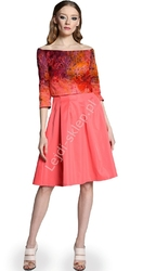 Sukienka z imitacją bolerka by mona by monika natora 286 , 5 kolorów