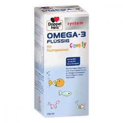 Doppelherz omega-3 family flüssig system