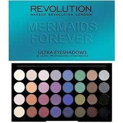 Makeup revolution 32 ultra eyeshadows mermaids forever, wieczorowe cienie do powiek