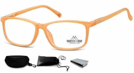 Asferyczne okulary do czytania montana plusy mr62b