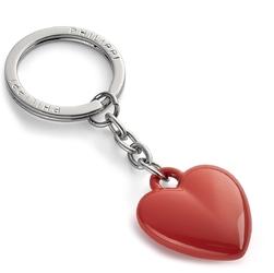 Brelok serce do kluczy coeur philippi czerwona pomarańcza p273067
