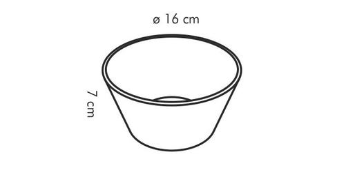 Tescoma miska okrągła gustito, 16 cm