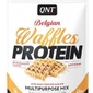 Gofry białkowe qnt protein waffles biała czekolada 480 g
