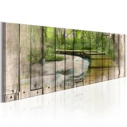 Obraz - rzeka wspomnień