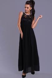 Evalola sukienka- czarna 7815-3