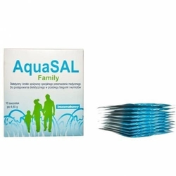 Aquasal family bezsmakowy x 10 saszetek