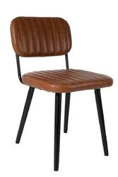 Orange line krzesło jake worn brązowe - produkt z wadą 1100261usr00104