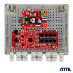 Switch zewnętrzny 8-portowy poe do 8 kamer ip atte ip-8-20-l2 - szybka dostawa lub możliwość odbioru w 39 miastach