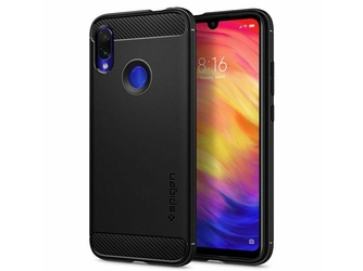 Etui spigen rugged armor do xiaomi redmi note 77 pro matte black