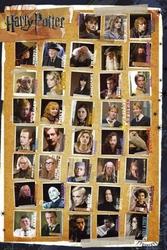Harry potter 7 characters - plakat