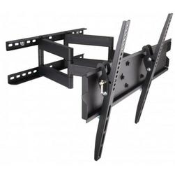 Techly Uchwyt ścienny LCDLED 23-55cali regulowany 70kg, czarny