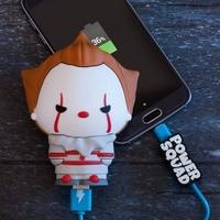 Powerbank powersquad klaun pennywise