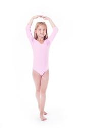 Shepa body gimnastyczne lycra b15 rękaw 34