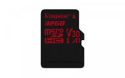 Kingston microSD  32GB Canvas React 10070MBs U3 UHS-I V30 A1