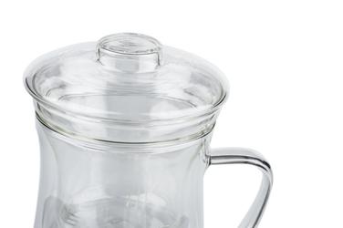 Szklany kubek 350 ml z zaparzaczem giardino
