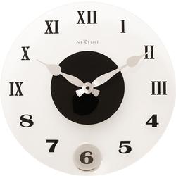 Zegar ścienny z wahadłem Milano Color Nextime 35 cm 8635