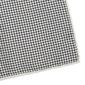 Elegancka granatowo-beżowa poszetka w cztery wzory