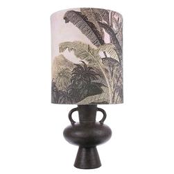 Hkliving klosz do lampy stołowej nadruk dżungla rozmiar l naturalny vlk2012
