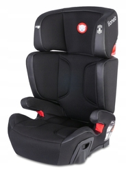 Lionelo hugo leather black fotelik 15-36 kg isofix + lampka led