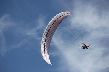 Lot paralotnią dla dwojga - białystok- 15 minut