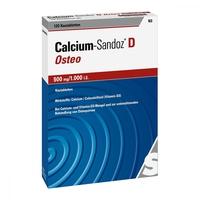 Calcium sandoz d osteo 500 mg1.000 i.e. kautablette n