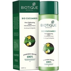 Bio tonik ogórkowy z wodą himalajską - cera tłusta 120ml, biotique