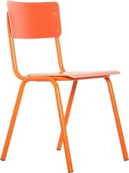 Zuiver :: krzesło back pomarańczowe
