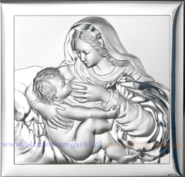 Obrazek VL800024X Matka Boska Karmiąca 18 x 18 cm