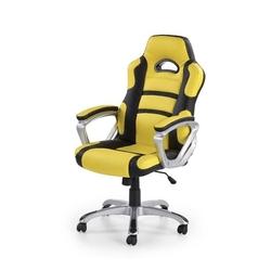 Apis fotel gamingowy dla graczy żółto-czarny