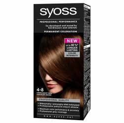 Syoss Color, farba do włosów, 4-8 czekoladowy brąz