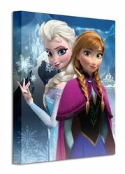 Frozen anna and Elsa - Obraz na płótnie