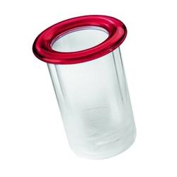 Guzzini - pojemnik na butelkę - mimi - czerwony - czerwony
