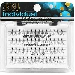 Ardell naturals kępki long black knotfree, długie, bezwęzełkowe