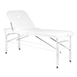 Stół składany do masażu komfort profi alu-710 biała