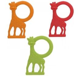Gryzak waniliowy żyrafa sophie - pomarańczowy