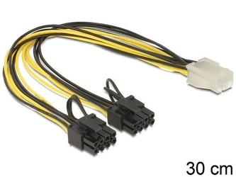 Delock Kabel rozdzielacz zasilania PCI EXPRESS 2x8PIN1x6PIN