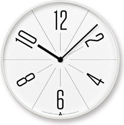 Zegar ścienny awa gugu biała tarcza biała obudowa