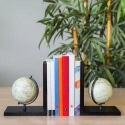 Podpórki do książek globusy