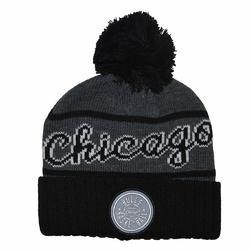 Czapka zimowa Mitchell  Ness NBA Chicago Bulls Team Tone Knit - CHIBUL INTL534