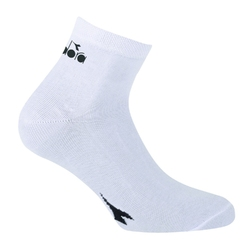 Skarpetki diadora street 3-pack unisex - biały