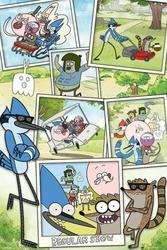 Zwyczajny serial  Regular Show Snapshots - plakat