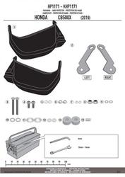 Givi hp1171 handbary honda cb 500 x 2019